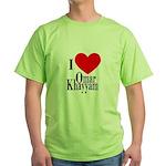 I Love Omar Khayyam Green T-Shirt