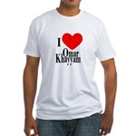 I Love Omar Khayyam Fitted T-Shirt