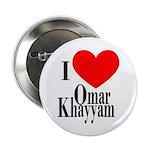 I Love Omar Khayyam Button