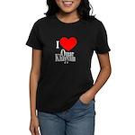 I Love Omar Khayyam Women's Dark T-Shirt