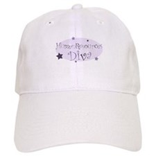 """Human Resources Diva"" [purpl Baseball Cap"