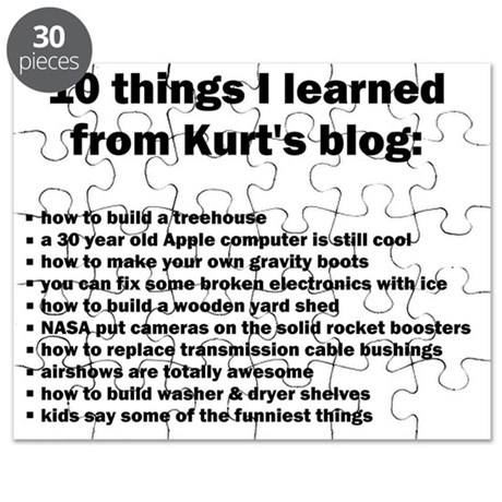 10 things Puzzle