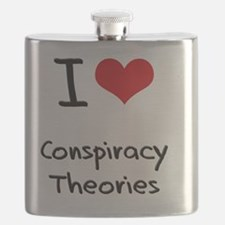 I love Conspiracy Theories Flask