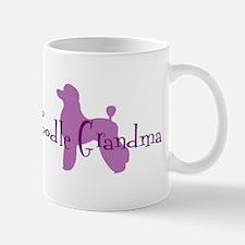 Poodle Grandma Mug