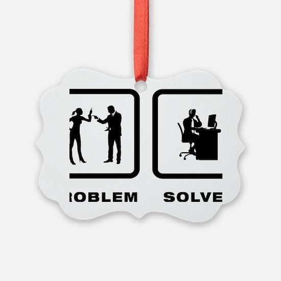 Customer-Service-Representative-1 Ornament