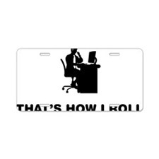 Customer-Service-Representa Aluminum License Plate