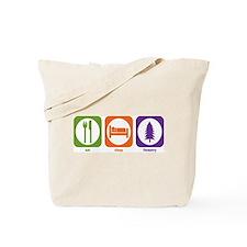 Eat Sleep Forestry Tote Bag