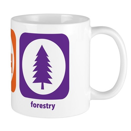 Eat Sleep Forestry Mug