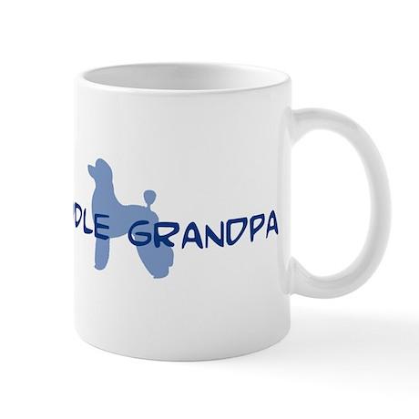 Poodle Grandpa Mug