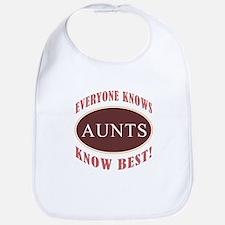 Aunts Know Best Bib