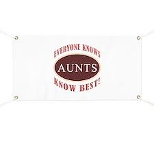 Aunts Know Best Banner