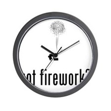 Pyrotechnician-02-A Wall Clock