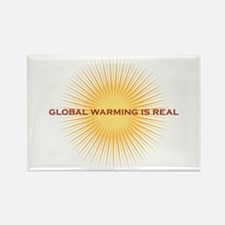 global warming Rectangle Magnet