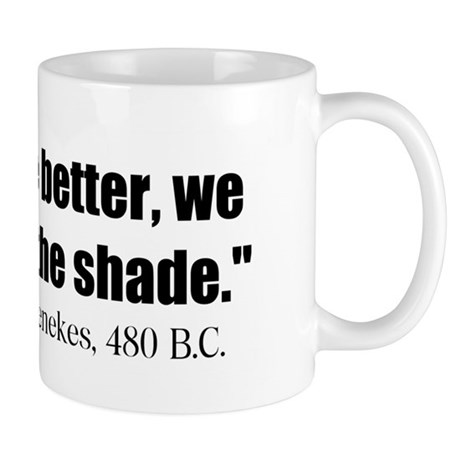 Dienekes: Fight in the shade Mug