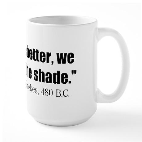 Dienekes: Fight in the shade Large Mug