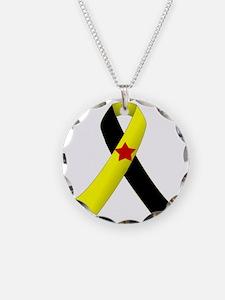 PTSD Ribbon Necklace