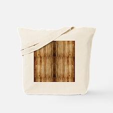Flip-Flip Wood Tote Bag
