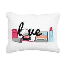 Makeup love Rectangular Canvas Pillow