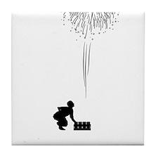 Pyrotechnician-04-A Tile Coaster