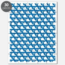 Whale Blue Puzzle