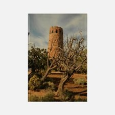 Desert View Watchtower Rectangle Magnet