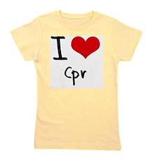 I love Cpr Girl's Tee