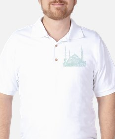 Istanbul_10x10_BlueMosque_White T-Shirt