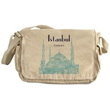 Istanbul_10x10_BlueMosque_Blue Messenger Bag