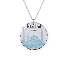 Istanbul_10x10_BlueMosque_Bl Necklace