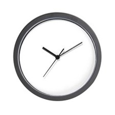 Ask Me About My Web Site Wall Clock