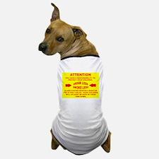 Funny Fire alarm Dog T-Shirt