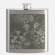 Steel gears Flask