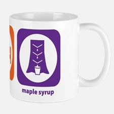Eat Sleep Maple Syrup Small Mugs