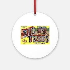 Big Trees Park California Ornament (Round)