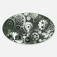 Steel gears Decal