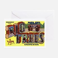 Big Trees Park California Greeting Cards (Package