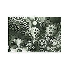 Steel gears Rectangle Magnet