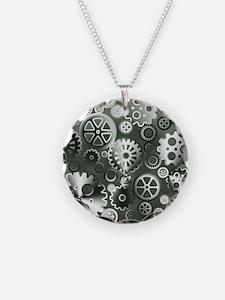 Steel gears Necklace