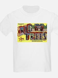 Big Trees Park California (Front) T-Shirt