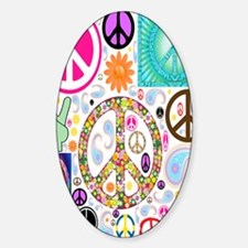 Peace  Paisley Collage FF Decal