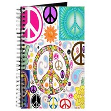 Peace  Paisley Collage FF Journal