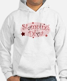 """Stamping Diva"" [red] Hoodie"