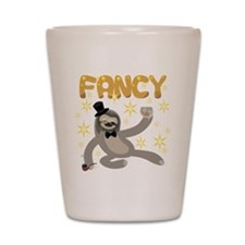 Fancy Sloth Shot Glass