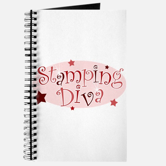 """""""Stamping Diva"""" [red] Journal"""