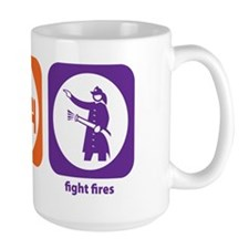 Eat Sleep Fight Fires Mug