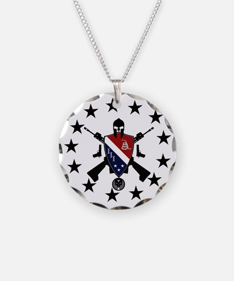 Three Percent Coat of Arms Necklace