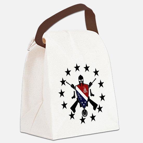 Three Percent Coat of Arms Canvas Lunch Bag
