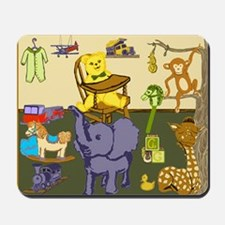 Baby Boy Room of Animals Toys Mousepad