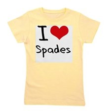 I love Spades Girl's Tee