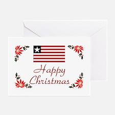 Liberia Happy Christmas Greeting Cards (Pkg 10)